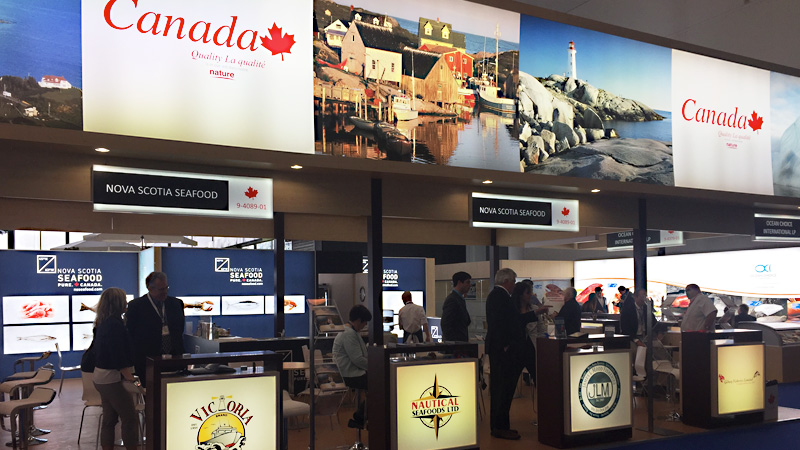 Nova Scotia companies at Seafood Expo Global, Brussells