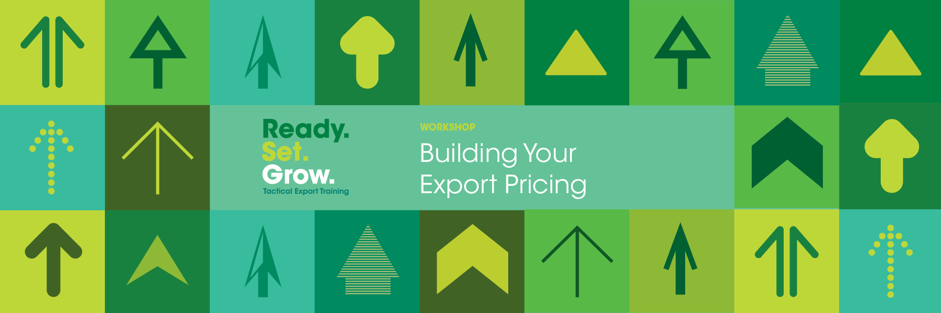 Building your Export Pricing