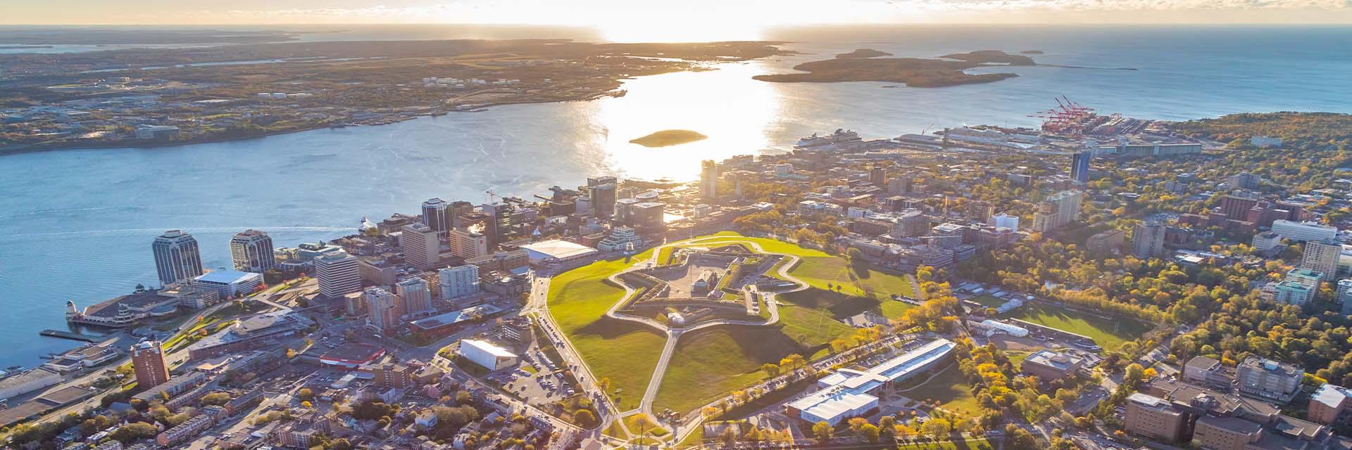 A sunny view of Halifax