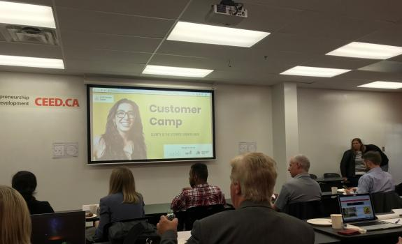 Customer Camp with Katelyn Bourgoin