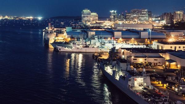 Halifax, Nova Scotia attracts global defence companies.